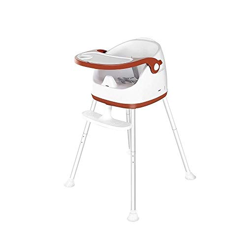 Best Deals! DIAOD Children's Dining Chair-High Chair, Convertible Highchair with Cushion, Tray and A...