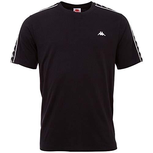 Kappa GRENNER Camiseta, Hombre, 19-4006 Caviar, Large