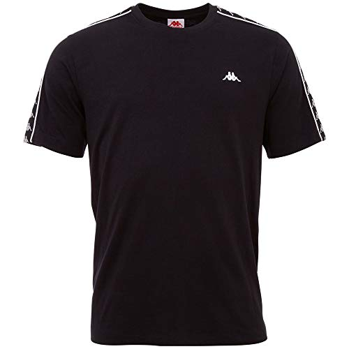 Kappa Herren GRENNER T-Shirt, 19-4006 Caviar, XL