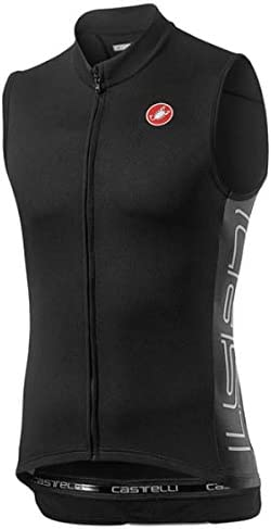 Castelli Entrata V Sleeveless Jersey Men s Light Black XXL product image