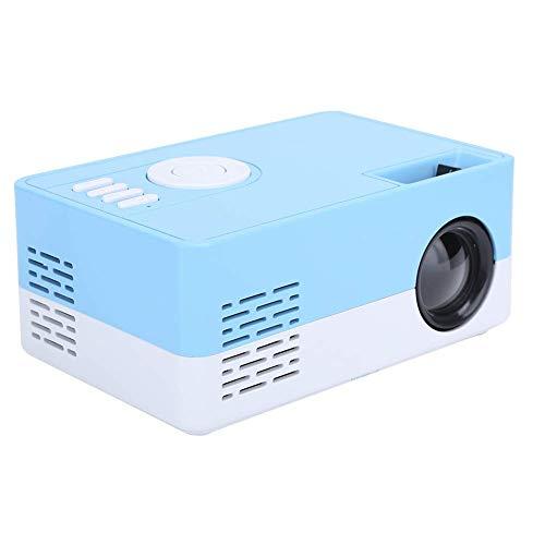 Caja pantalla mini proyector, Mini proyector inteligente 1080p, Proyector video HDMI USB Home Cinema, Proyector cine casa enfoque manual LED alta definición completa, Proyector video multifuncional