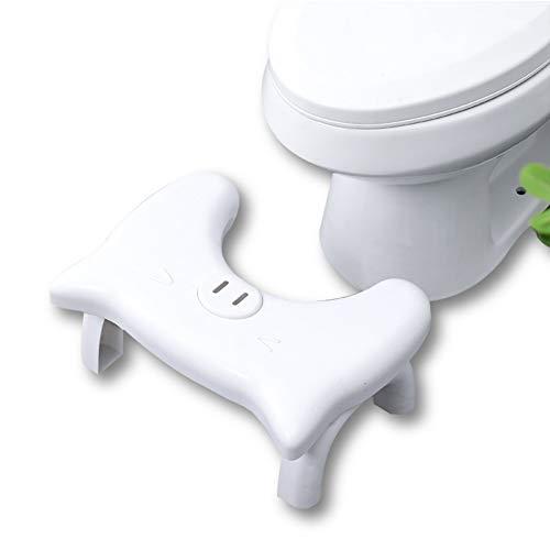 HYCZW Asiento De Inodoro De Baño Plegable Asiento Squatty Potty Taburete De Inodoro Plegable Portátil Multifuncional Más Fácil Propios Inodoro Postura MÁS Sano