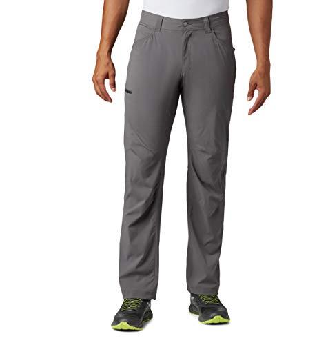 Columbia Silver Ridge II Pantalon Stretch pour Homme Protection Solaire UPF 50, Homme, 1839331, Gris City, 34W / 32L