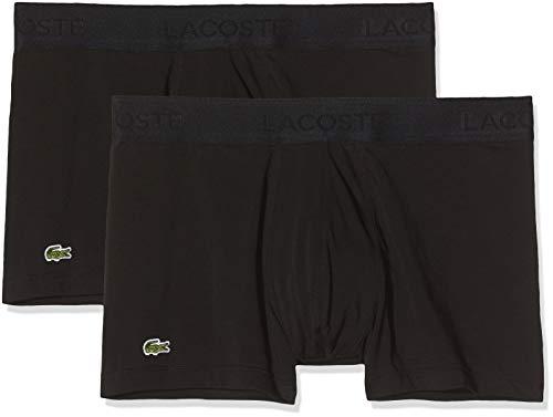 Lacoste Herren 5H3407 Boxershorts, Schwarz (Noir), X-Large (3er Pack)