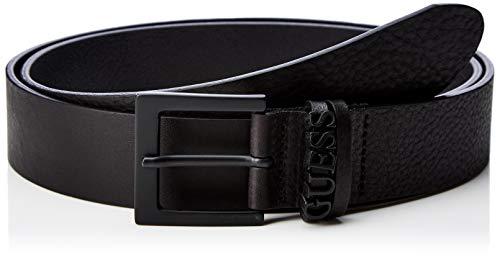 Guess Essential Belt Cinturón, Negro (Jet Black A996 Jblk), No Aplica|#No Aplica|#682 (Talla del Fabricante: Medium) para Hombre