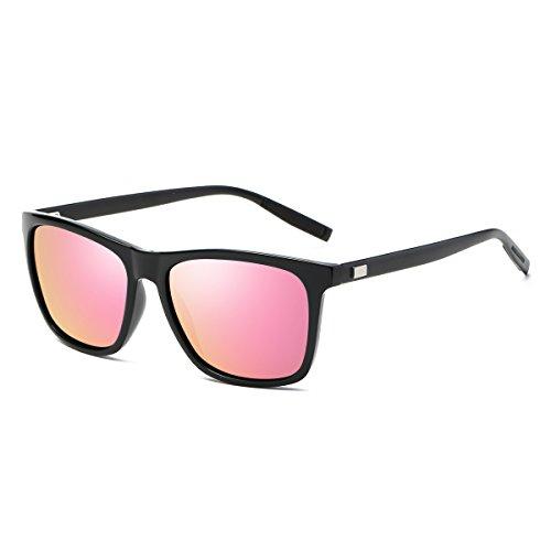 Rocf Rossini Vintage Gafas de sol polarizadas Hombres Mujeres Retro Tonos Protección UV400