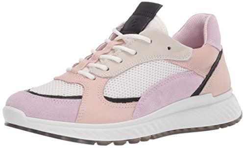 Ecco Damen ST.1W Sneaker, Pink (Blossom Rose/Black/White/Rose Dust 51889), 37 EU