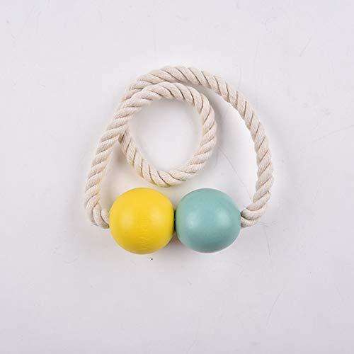 ADSIKOOJF 2 Stks/partij gordijn gesp Europese magneet gordijn riemen dubbele bal gordijn magnetische riemen moderne minimalistische gordijn accessoires