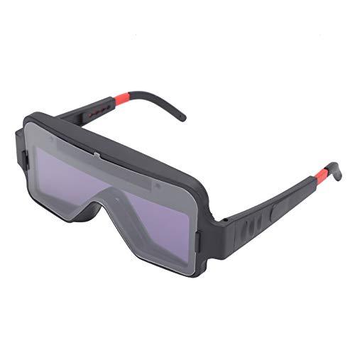 Accesorios de soldadura Gafas para soldar YZ04 Gafas protectoras para soldador Atenuación automática Soldadura Protección para los ojos Gafas para soldar Máscara Casco Ojos Gafas