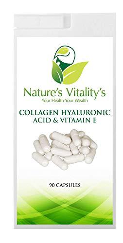 Collagen Hyaluronic Acid Vitamin C & E