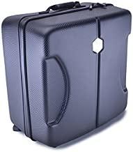 Bestem Aerial Waterproof Carbon Fiber Vinyl InsPak P4 EVA Hard-Shell Backpack, Black