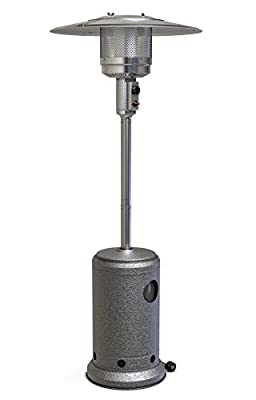 Rangland Outdoor Heater 46,000 BTU Patio Propane Heater with Wheels (Industrial Grade)