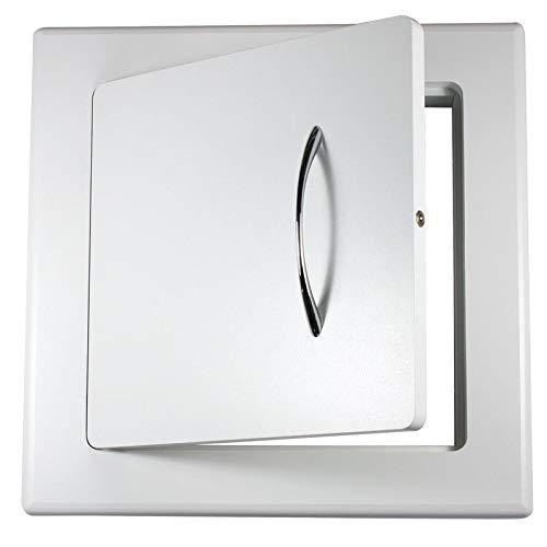 Wäscheeinwurftür 70202 S | Mitteldichte Faserplatte (MDF) | 400x400mm