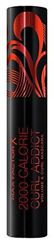 3 x Max Factor 2000 Calorie Curl Addict Mascara 11ml - Schwarz