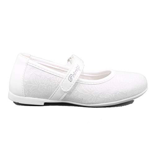 Primigi - Ballerine Bambina Scarpe Bimba Eleganti Strappo 5418200B Bianco - 26, Bianco