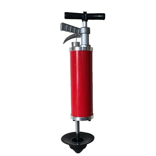Desatascador de desagüe de aire comprimido de alta presión para bañera con presión de aire, 2 tamaños diferentes para inodoro, bañera, lavabo, ducha, bañera