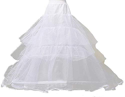 [KimBerley] ウェディング 3段 パニエ ワイヤー ドレス プリンセスライン ブライダル 結婚式 ニ次会 披露宴