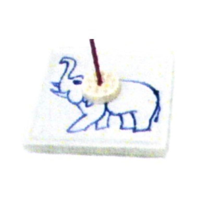 有名人証人オペラセラミック香皿 角 ゾウ