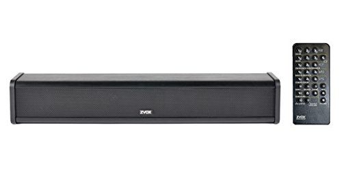 ZVOX AccuVoice AV205 Sound Bar TV Speaker With Hearing Aid Technology - Advanced Model Can Be Fine-Tuned - 30-Day Home Trial