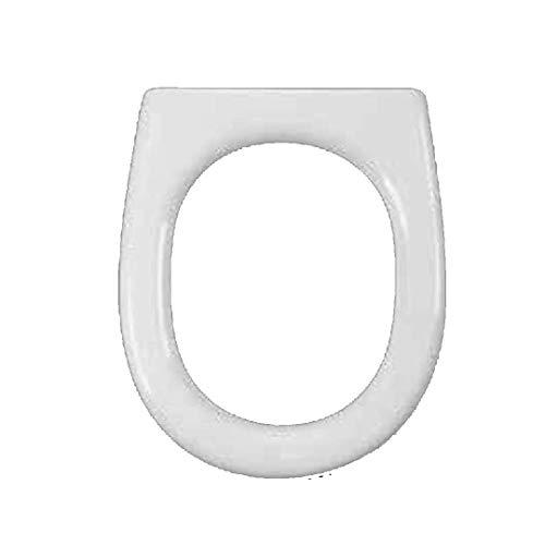 Copriwater dedicato per Serie Spin Flaminia in Resina Poliestere colata Bianco Lucido - Coperchio Sedile tavoletta per WC - Massima qualita' Garantita