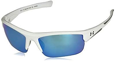 Under Armour Propel Sunglasses, White / Gray Lens, 68 mm