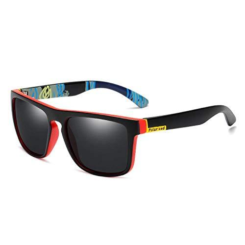 Neutral Hombres Polarizado Gafas de Sol Classic Square Gafas Diseño Retro Conducción Gafas de Sol para Hombres UV400 Sombras Eyewear 03