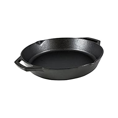 Lodge L10SKL Cast Iron Pan, 12 , Black