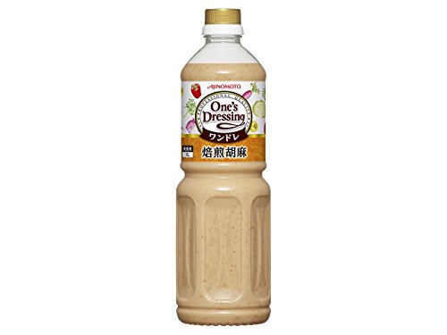 「One's Dressing」焙煎胡麻 1Lボトル×6