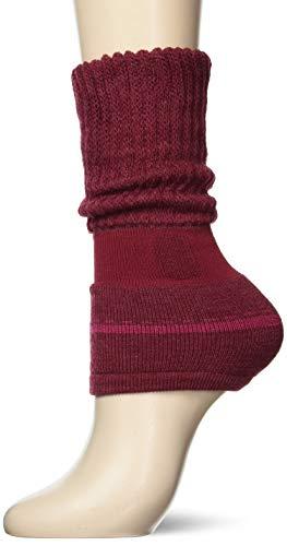 [オカモト] 靴下サプリ まるでこたつ 足首ウォーマー 633-971 レディース ワインレッド 日本 FREEサイズ (-)