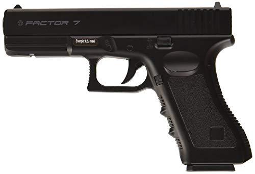 Plan Beta Pistolet Heavy Metal Factor 7 Noir Spring 0.5J Adulte Unisexe