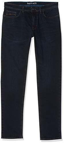 Hattric Herren Hunter-688525 Jeans, Dunkel Blau 89, 38W / 32L