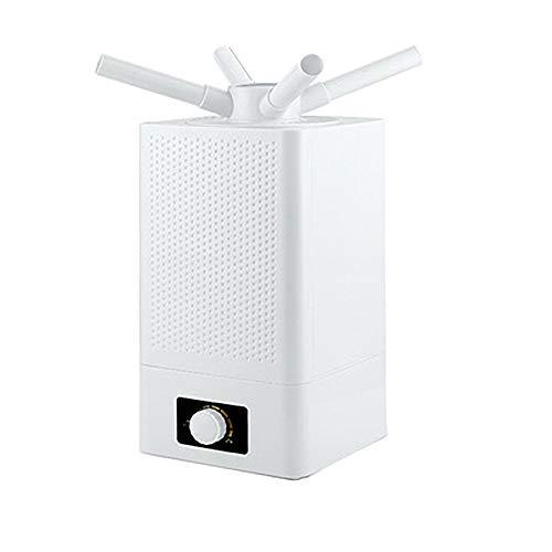 Humidificador De Ultrasonidos Industrial Comercial Humedad De Doble NúCleo HumidificacióN De 360 Grados Ahorro De EnergíA Bajo Consumo Humidificador Multiusos De Pie De Piso De 11 litros