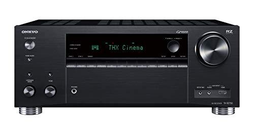 Onkyo TX-RZ730(B) Récepteur AV 9.2 canaux (THX Cinema Sound, 175 W/canal, multiroom, Dolby/DTS:X, Wifi, Bluetooth, Services de streaming Spotify, Tidal, Deezer, radio Internet), Noir