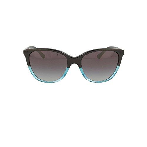 Emporio Armani Damen 0ea4110 Sonnenbrille, Schwarz (Black/Azure), 55