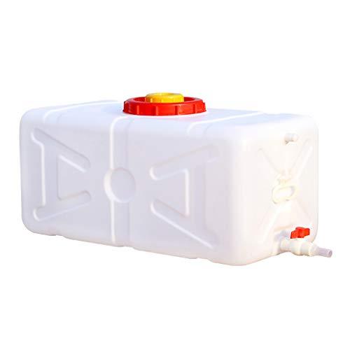 MORN Contenedores de Deposito Agua, Cubo de Almacenamiento de Agua Grande, Cubo de Gran Capacidad para Exteriores Tanque de Agua Cuadrado Horizontal, para El Hogar y Comercial