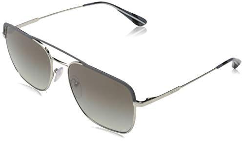 Prada Herren 0PR 53VS Sonnenbrille, Grau (Gunmetal/Silver), 59