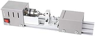 Mini torno de madera máquina de torno, 150 W bricolaje Mini