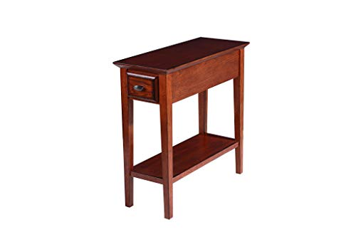 Phoenix Home Tilburg Chair-Side Solid-Wood End Table