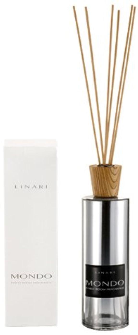 持ってるトリッキー家庭教師LINARI リナーリ ルームディフューザー 500ml MONDO モンド ナチュラルスティック natural stick room diffuser
