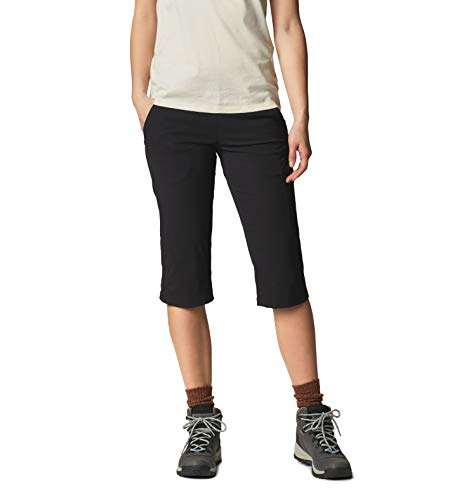 Mountain Hardwear Women's Standard Dynama/2 Capri, Black, Small Regular