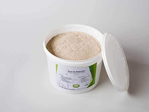 Diamix® -Terre de Diatomée - 5KG - Utilisable en Agriculture Biologique - Naturelle Alimentaire-Haute pureté sans Traitement ni adjonction - Nombreux usages en Basse Cour et Maison.