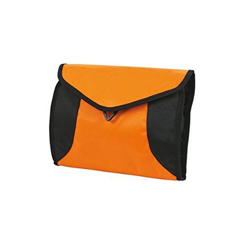HALFAR Trousse de Toilette Multi-Poches - Couleur - Orange