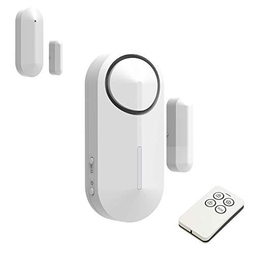 Safe2Home Mini Alarm Basis Set bis 16 Sensoren - Funk Alarmanlage Sabotageschutz – Alarmanlagen fürs Haus Büro Zubehör Sensoren Fensteralarm Türalarm