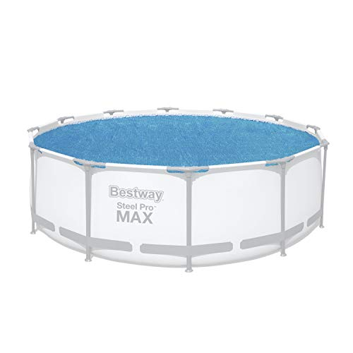 Bestway Flowclear™ Solarabdeckplane, Ø 356 cm, für runde 366 cm und 396 cm Aufstellpools , blau