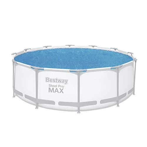 Flowclear Solarabdeckplane Ø 356 cm, für runde 366 cm Steel Pro, Steel Pro Max, und 366 und 396 cm Fast Set Pools, blau