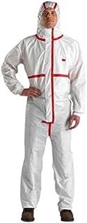 3M/™ 4500 Indumento di protezione tipo CE taglia 3XL Bianco Polipropilene 45g//mq I cat