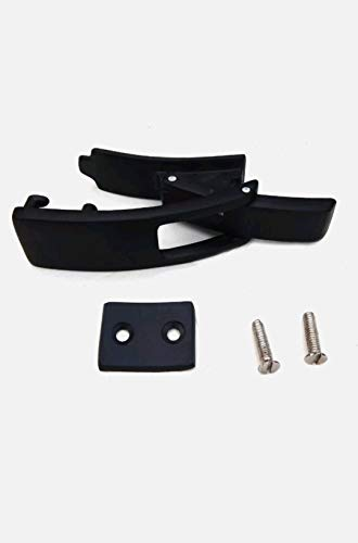 Black Replacement Lever Buckle for Powerlifting Lever Belts and Weight Lifting Lever Belt BB0015