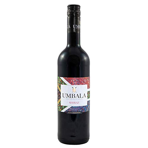 Umbala Shiraz Red Wine 75cl (Case of 6)