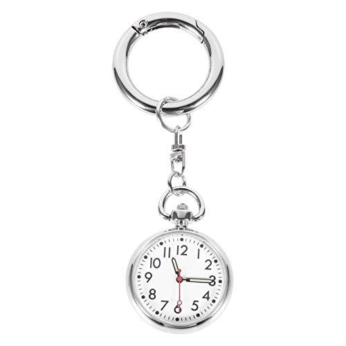 Toyvian Krankenschwester Uhr für Krankenschwestern Ärzte Clip auf Hängen Krankenschwester Uhr Edelstahl Fob Taschenuhr Digitale Uhr Krankenschwestern Tag Gefälligkeiten Mütter Tag Liefert