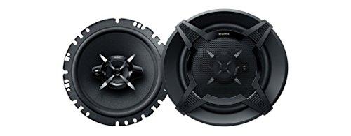 Sony XS-FB1730 17 cm 3-Wege Auto-Lautspecher mit 270 Watt Maximalleistung schwarz & Radioadapter passend für SONY 16pin OEM